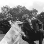 President Johnson's White Collie, Blanco