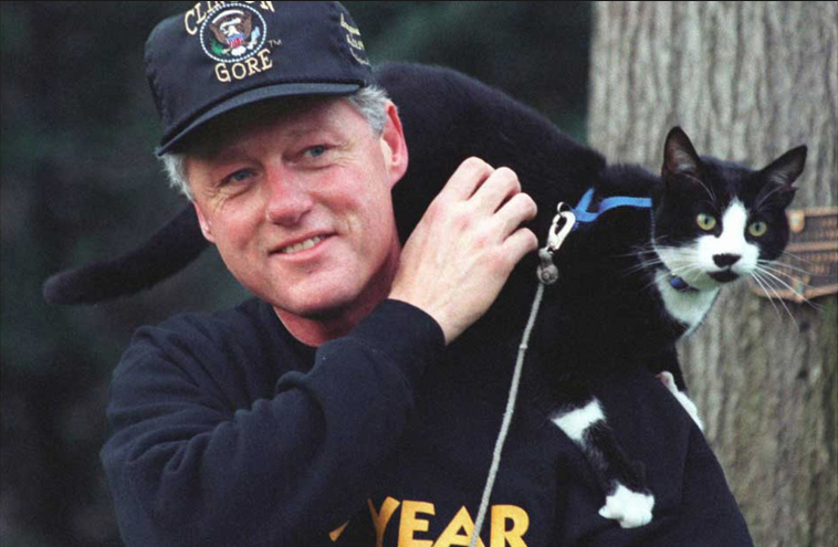 President Who Had A Cat Named Socks